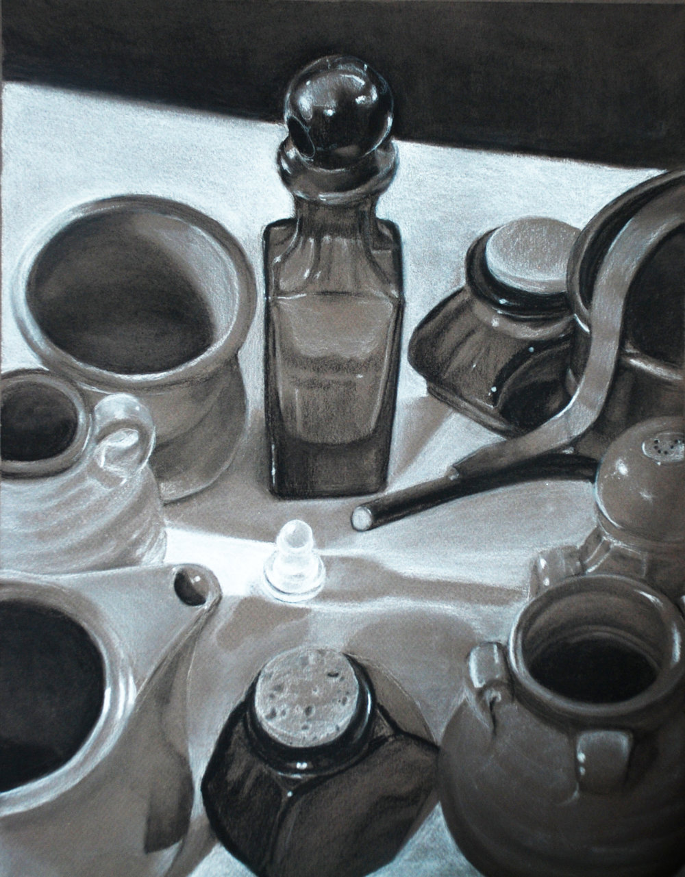 Charcoal on Toned Paper 2010
