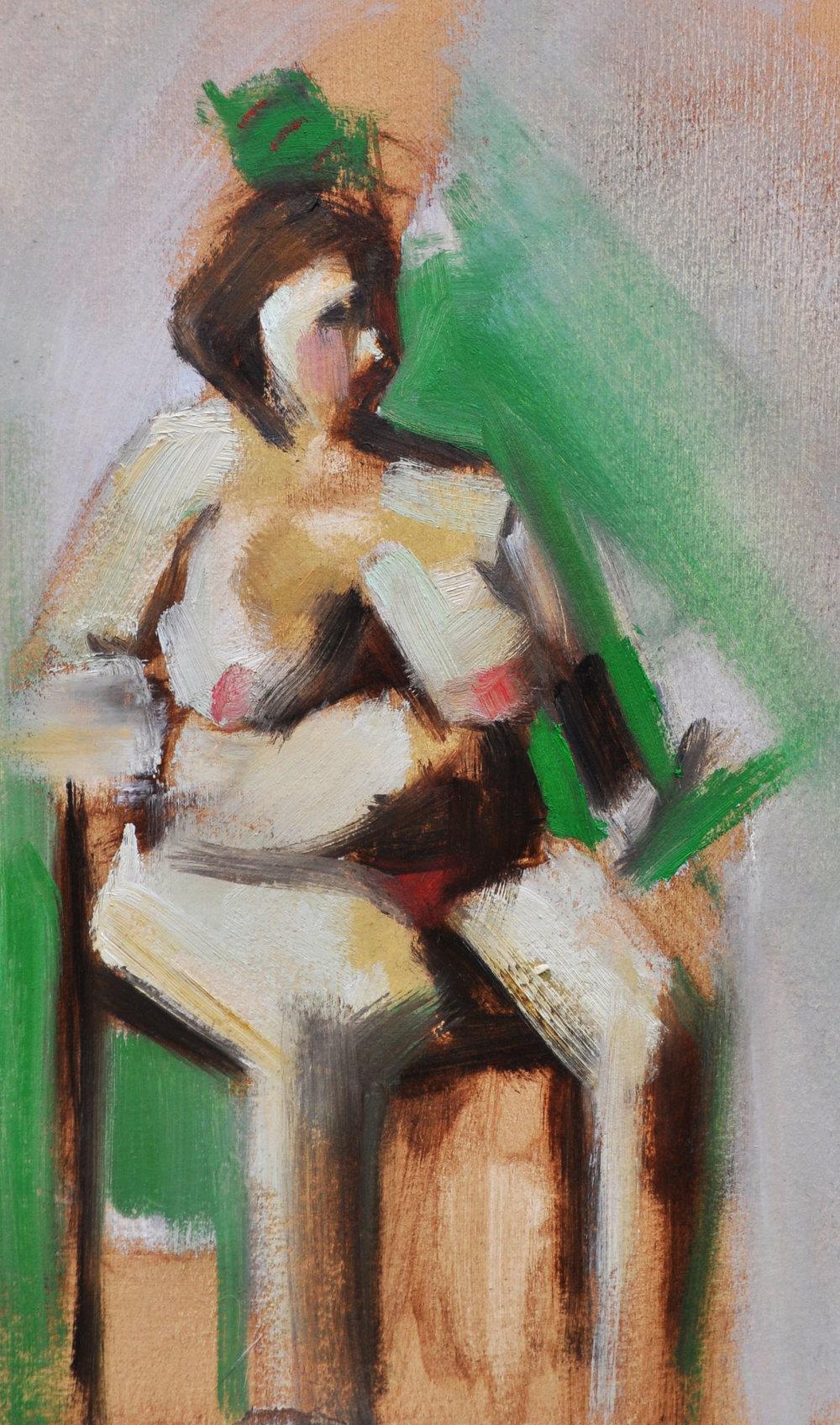 Alla Prima Nude Study (1 hour)      2018