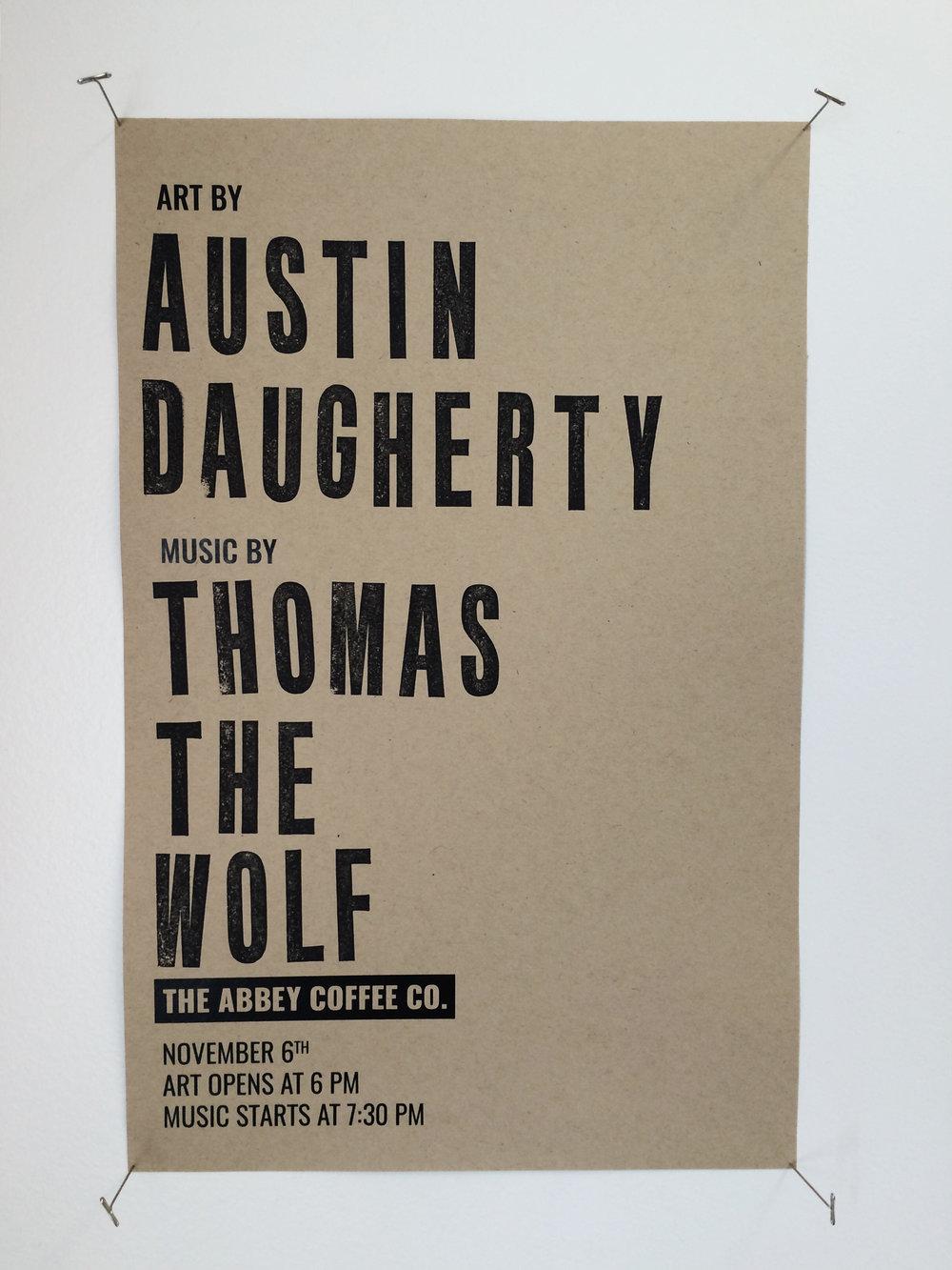 Nov 6 Show Poster