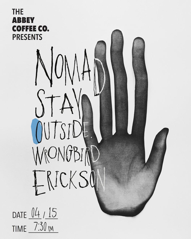 April 15 Show Poster