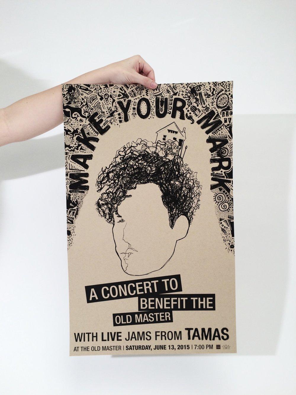 Benefit Concert Poster Design