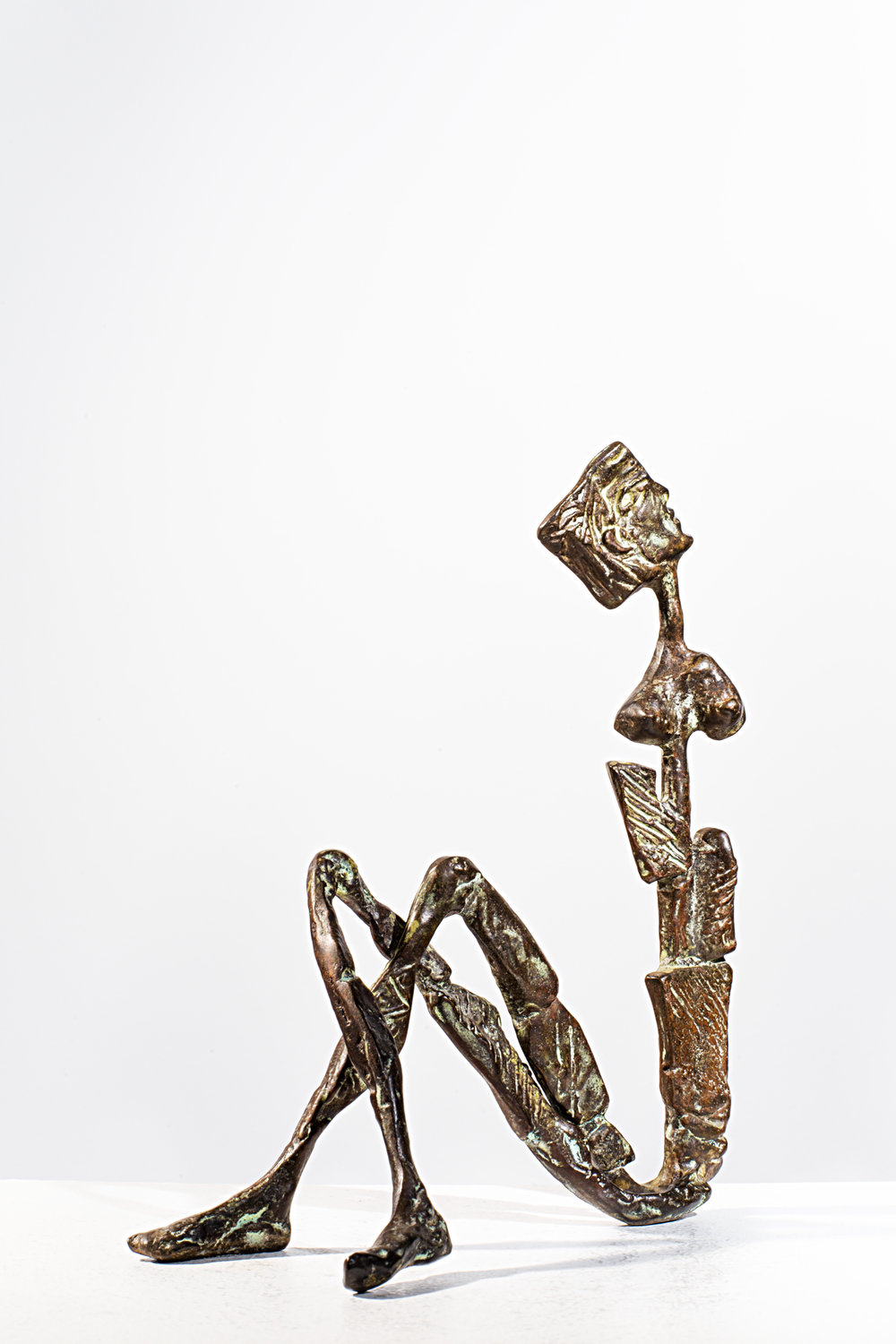 Counting the Stars Bronze Ed. /30 Sandcast 19,5 x 16 x 7 cm