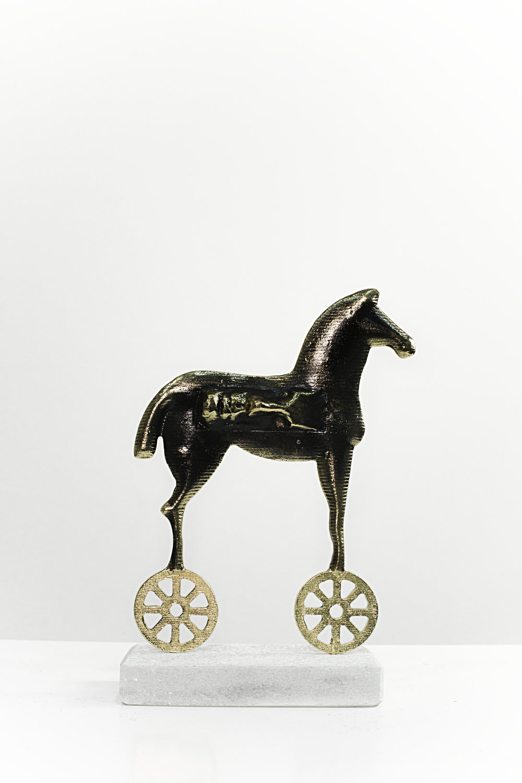 Horse of Troy  Bronze Ed. /250 Sandcast 20 x 15 x 7 cm