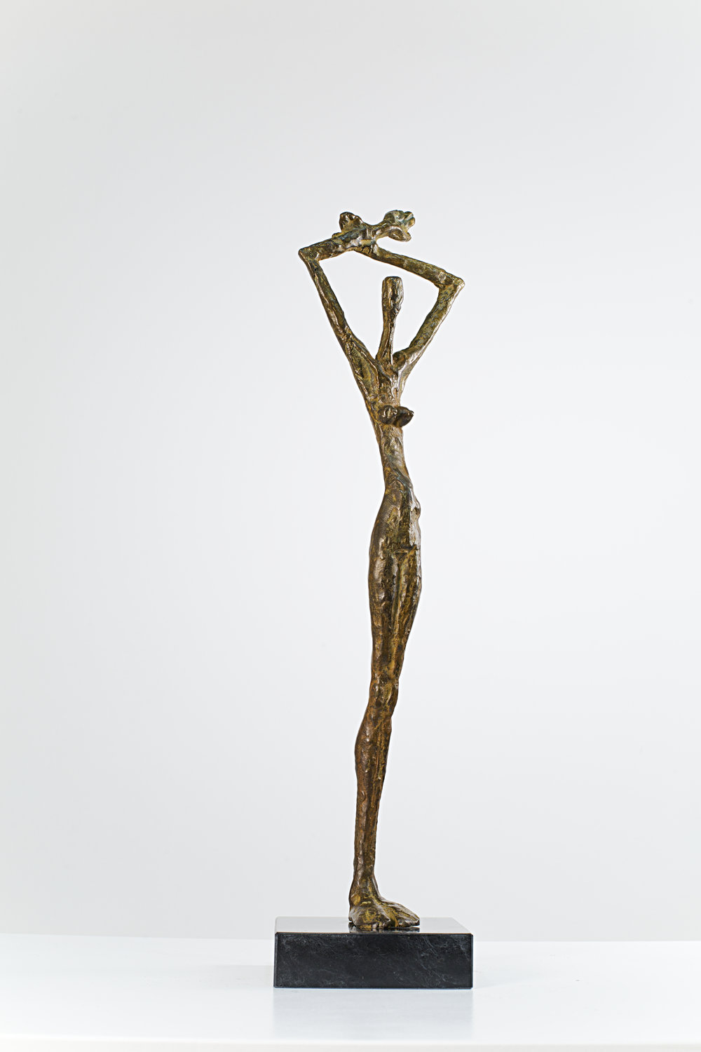 Embracing the World Bronze Ed. /30 Lost wax 52 x 50 x 15 cm