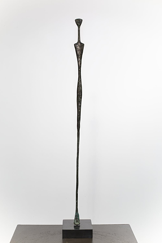 Idol  Bronze Ed. /50 Sandcast 70 x 10 x 10 cm