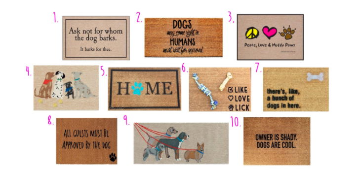 We Have Pulled Together Some Of Our Favorite Doormats! So Make Sure You  Check Them Out And Get One For The Front AND The Back!