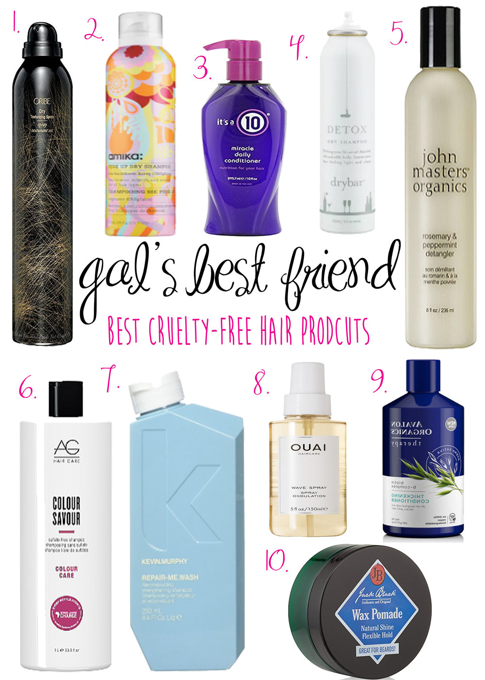 Gal's Best Friend- Cruelty Free Hair Products