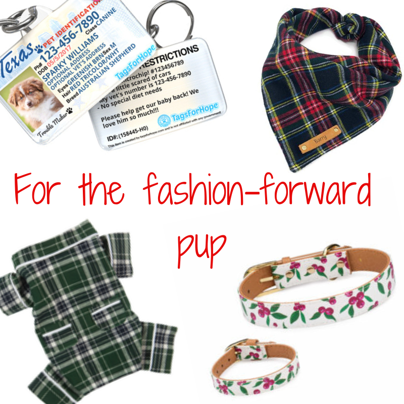 Christmas gifts for the fashion-forward pup in your life!