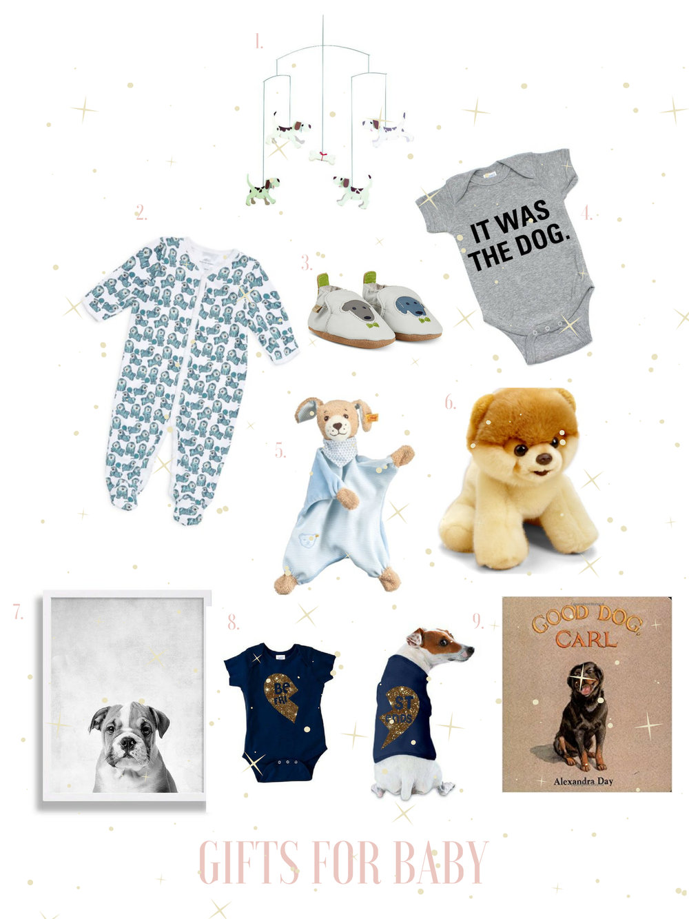 christmas gifts for babies gals best friend