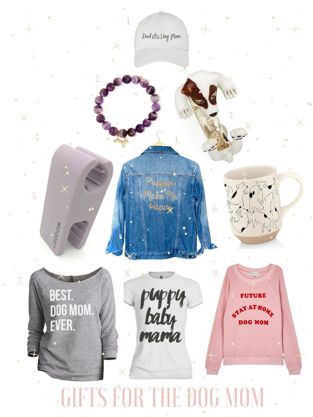 christmas gifts for dog moms gals best friend