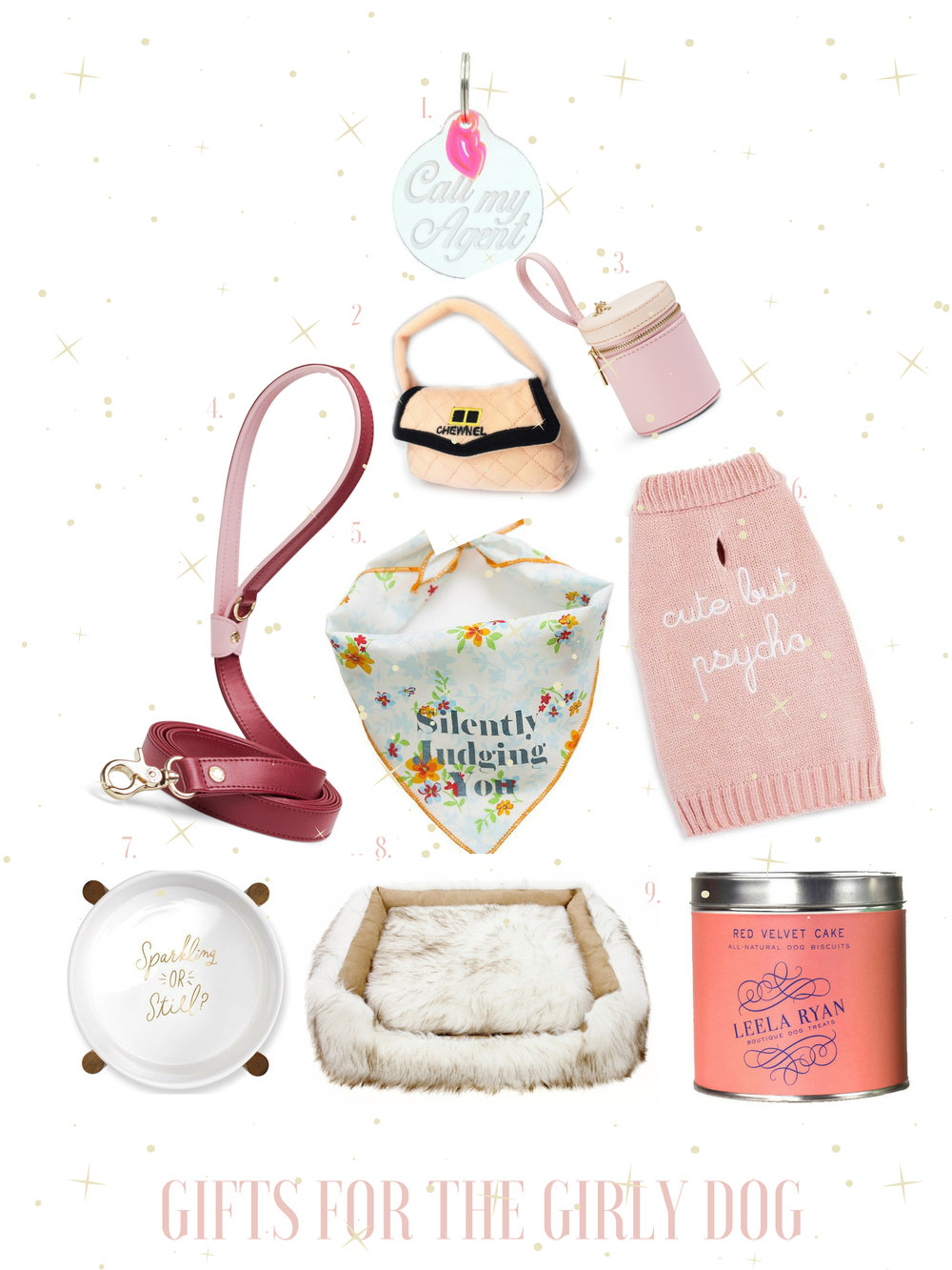 christmas gifts for dogs gals best friend