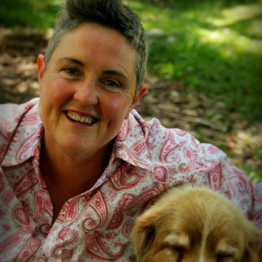 Dr Natalie Fitzpatrick - Acupuncturist, Integrative Medicine Practitioner and Healer ( with the very cute Coco Chanel)