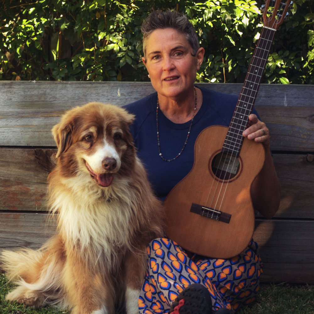 Dr Natalie Fitzpatrick - Acupuncturist, Functional Medicine Practitioner, Teacher and Healer ( here with the very cute Coco Chanel)