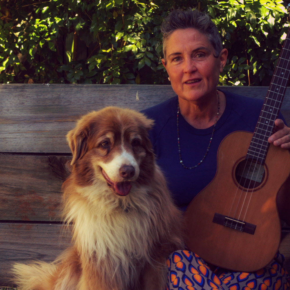 Dr Natalie Fitzpatrick - Acupuncturist, Functional Medicine Practitioner, Gut Health Expert, Teacher and Healer ( here with the very cute Coco Chanel)