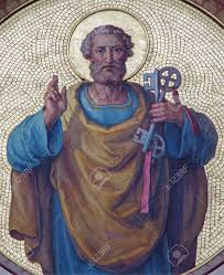 Saint Peter with the Keys to the Kingdom of Heaven