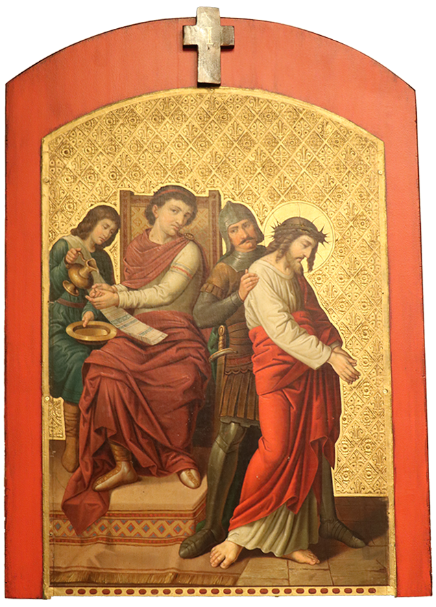 1. Jesus is condemned to death
