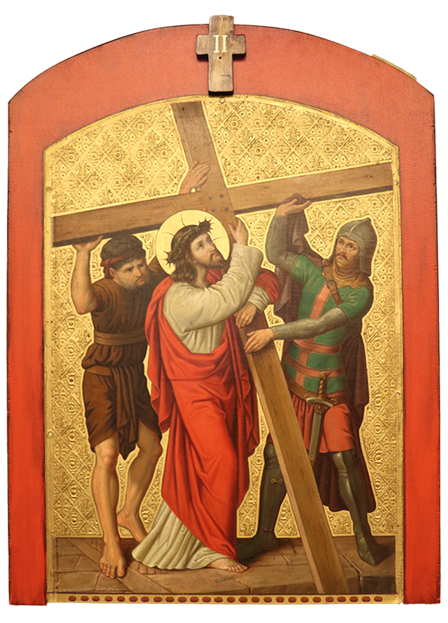 2. Jesus accepts his cross