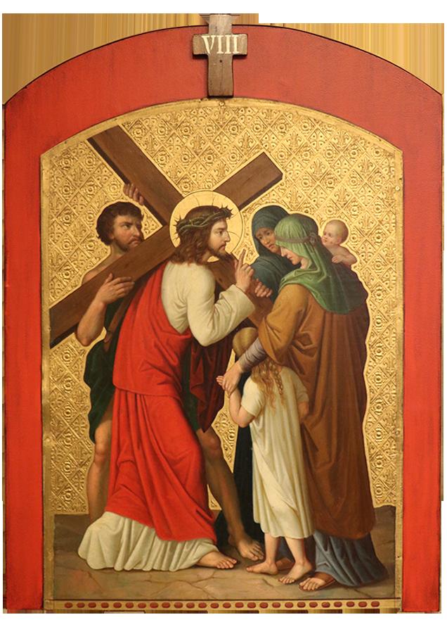 8. Jesus meets the three women of Jerusalem