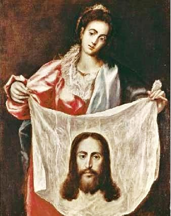 Veronica with Face of Jesus