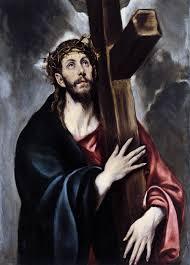 Jesus with his Cross