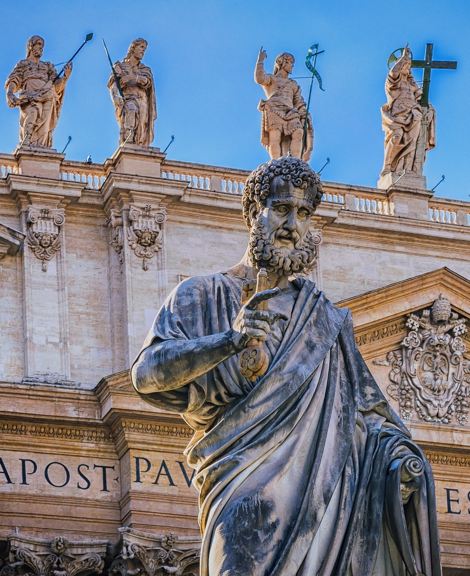 St. Peter with the Keys to the Kingdomm