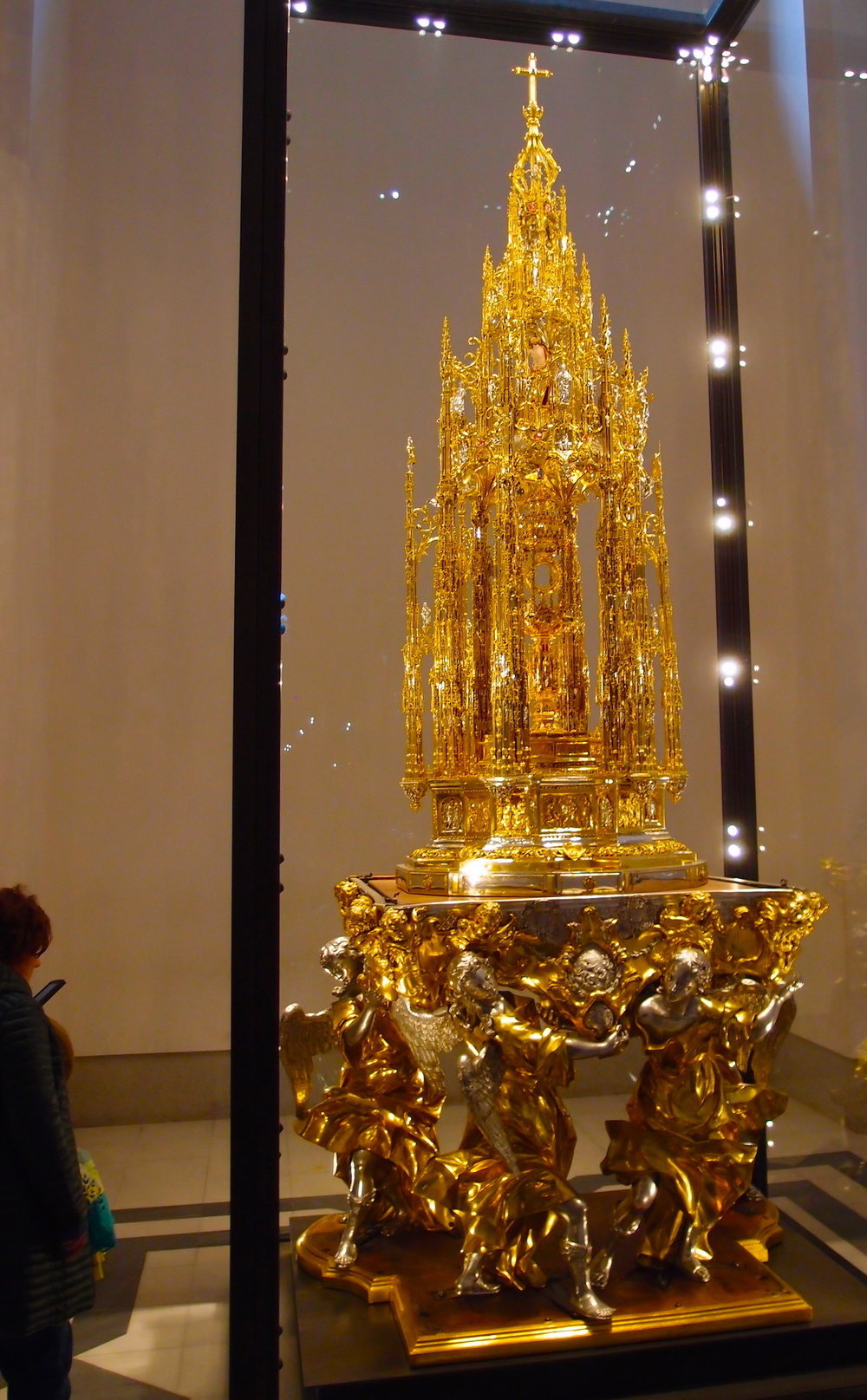 The Great Monstrance of the Cathedral of Toledo