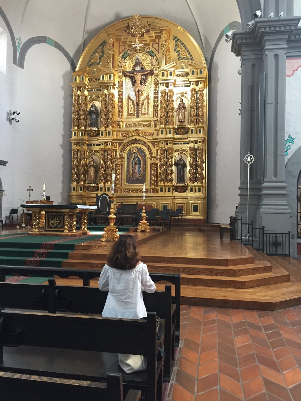 Private Adoration at San Juan Capistrano Basilica