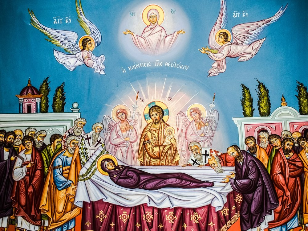 The Assumption of the Holy Mother