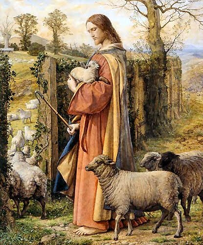 Jesus and the Lost Lamb