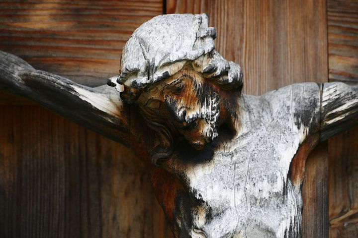 Wooden Crucified Christ
