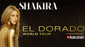 SHAKIRA: EL DORADO WORLD TOUR   MUSIC - WASHINGTON DC Price: $60 - $160+