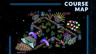 EventPost - Night Nation Run Course Map