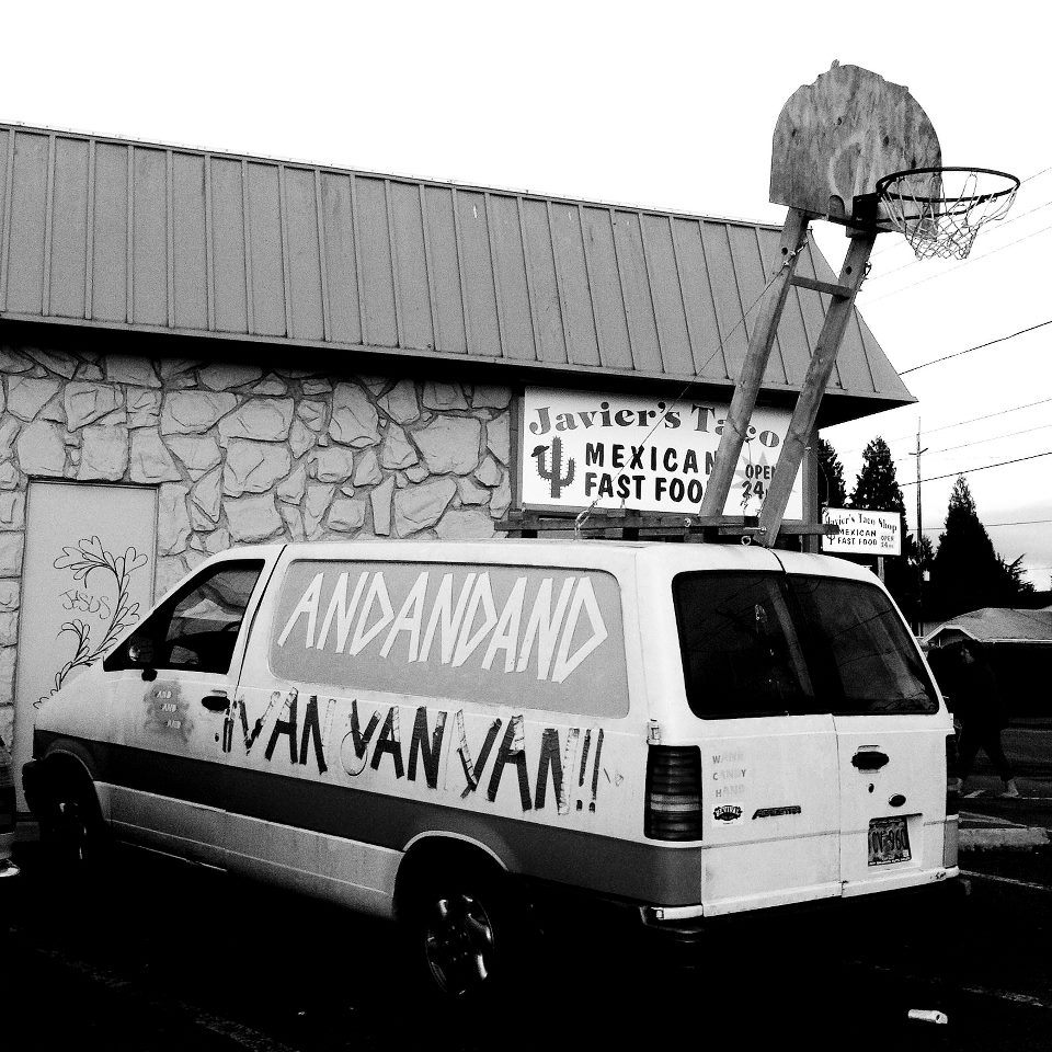 This is the original Rigsketball van. We now tour in the third Rigsketball van.