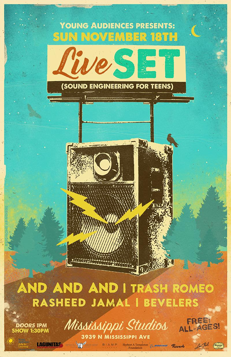 Live SET Benefit Show