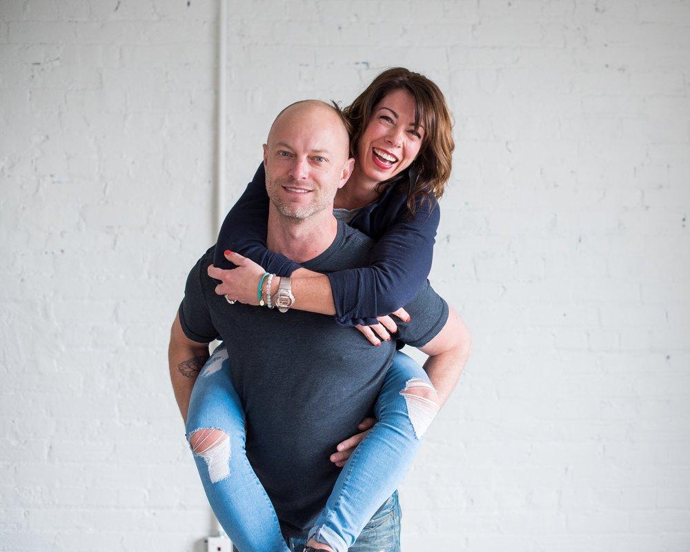 Lindsay Grabb & John Sinna - Founders of Up Yoga