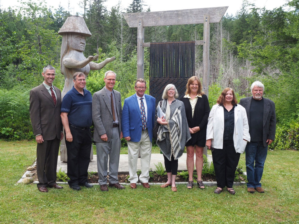 The Lagoon Society Board and the Honourable Judith Guichon, Lieutenant Governor of BC.