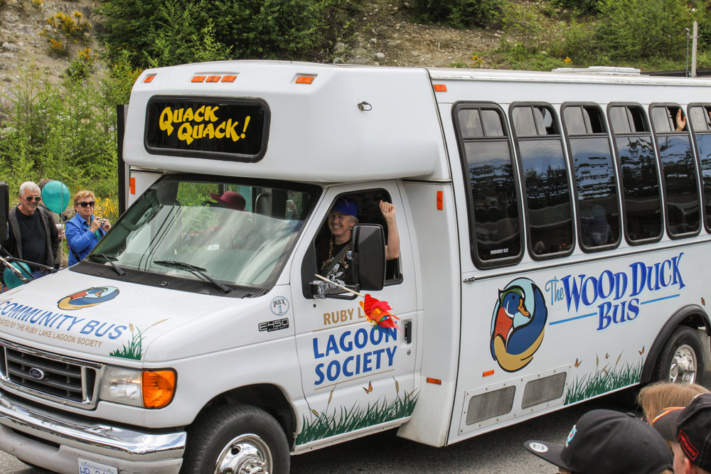 2014 - Wood Duck Bus May Day Parade - Lee-Ann Ennis Driving copy.jpg