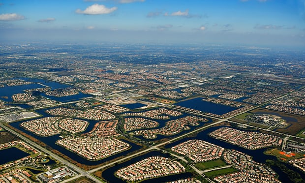 'Right now we are not succeeding' … an aerial view of houses in Florida. Photograph: Alamy