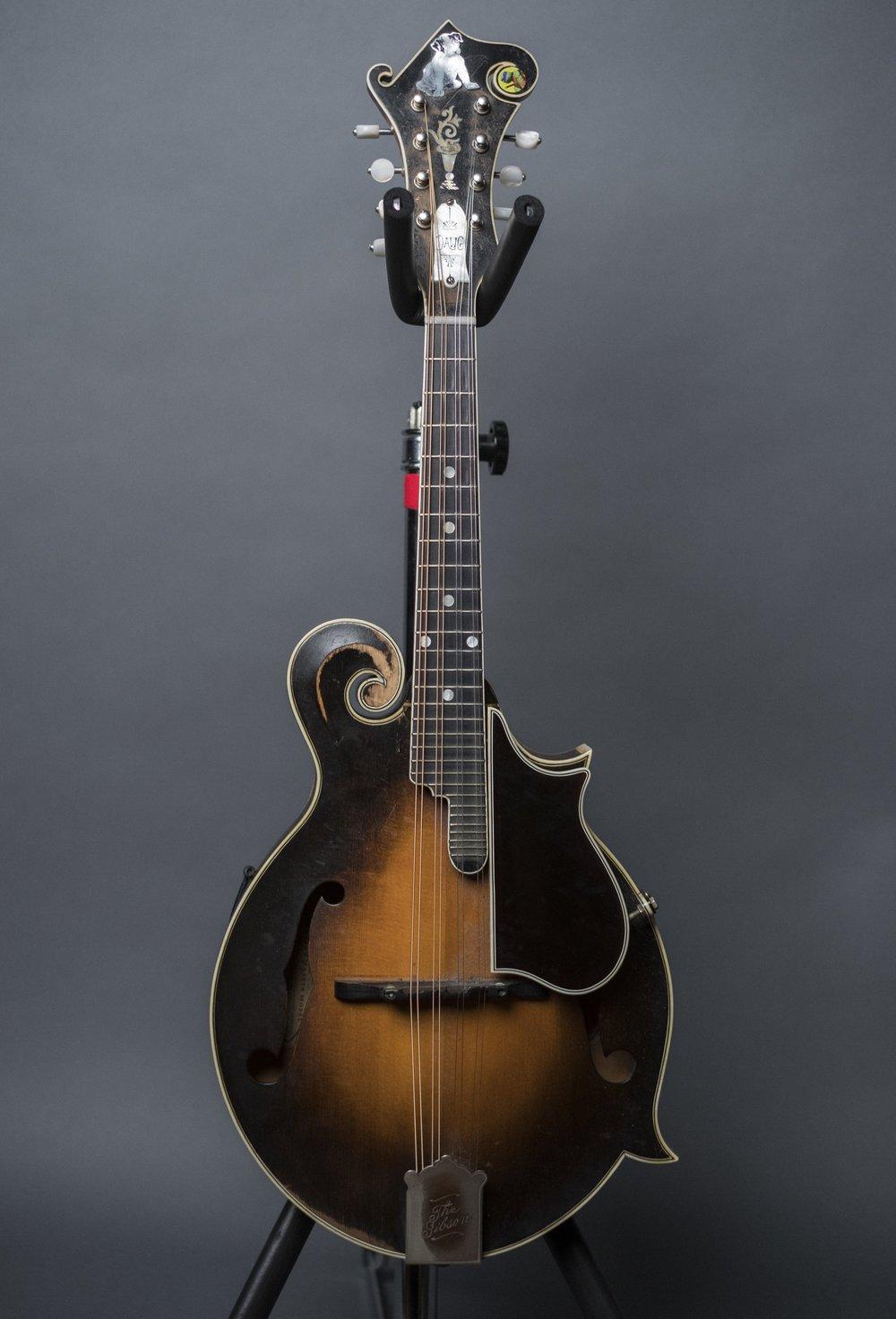 David Grisman's 1922 Gibson Loar F5