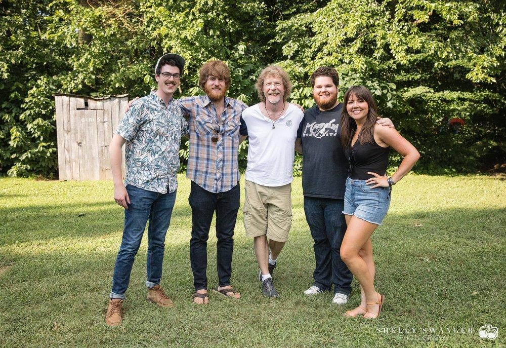 David Benedict, Tommy Norris, Sam Bush, & Jenni Lyn @ ROMP 2018