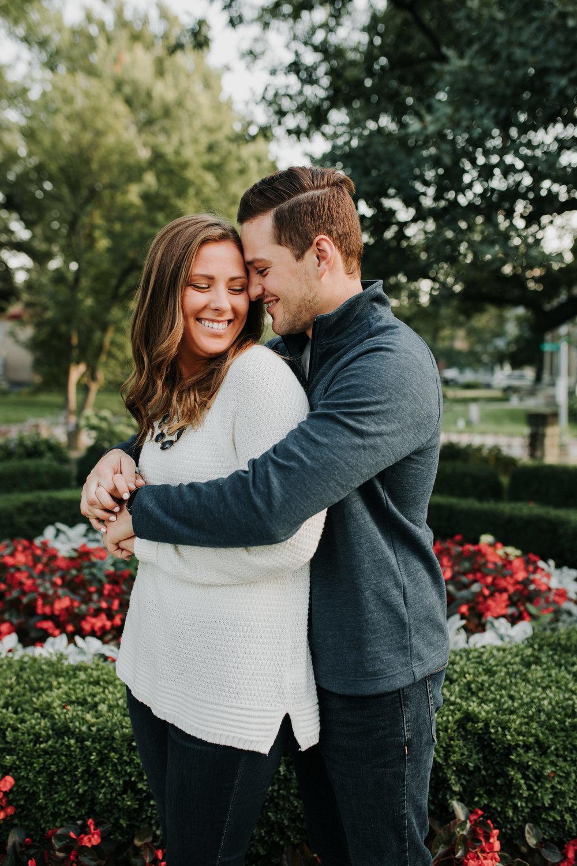Michelle & Sam - Engaged - Nathaniel Jensen Photography - Omaha Nebraska Wedding Photograper - Omaha Nebraska Engagement Session-14.jpg