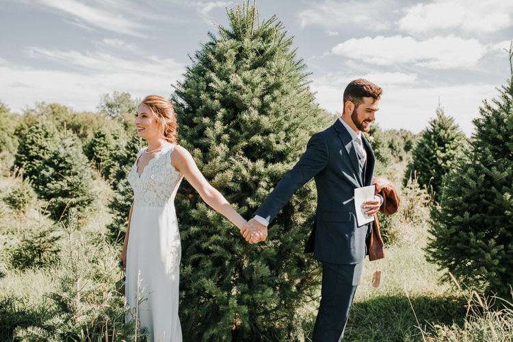 Cassidy & Isaac - Married - Nathaniel Jensen Photography - Omaha Nebraska Wedding Photograper - Nordstroms Christmas Tree Farm-1.jpg