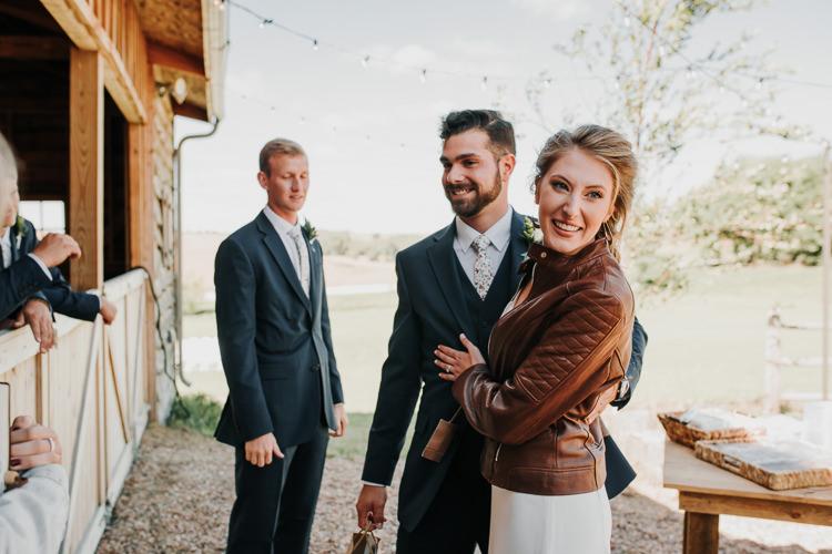 Cassidy & Isaac - Married - Nathaniel Jensen Photography - Omaha Nebraska Wedding Photograper - Nordstroms Christmas Tree Farm-26.jpg