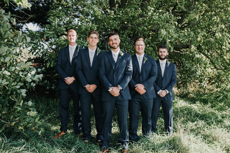 Cassidy & Isaac - Married - Nathaniel Jensen Photography - Omaha Nebraska Wedding Photograper - Nordstroms Christmas Tree Farm-33.jpg