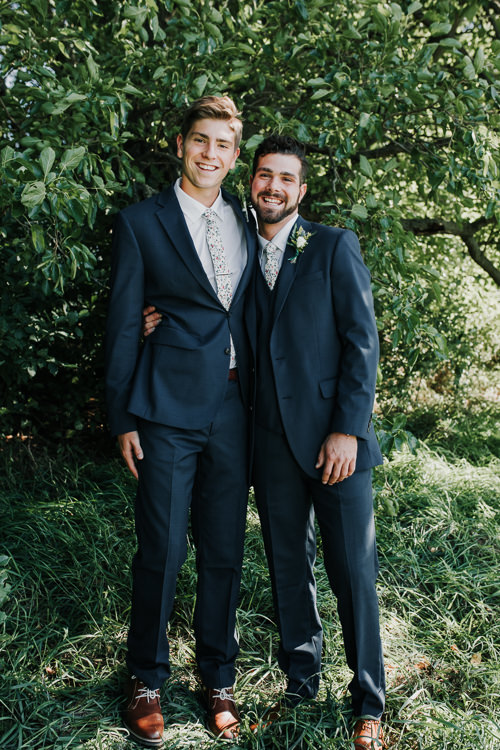 Cassidy & Isaac - Married - Nathaniel Jensen Photography - Omaha Nebraska Wedding Photograper - Nordstroms Christmas Tree Farm-42.jpg