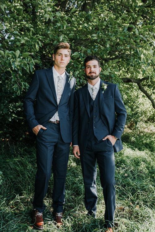 Cassidy & Isaac - Married - Nathaniel Jensen Photography - Omaha Nebraska Wedding Photograper - Nordstroms Christmas Tree Farm-44.jpg