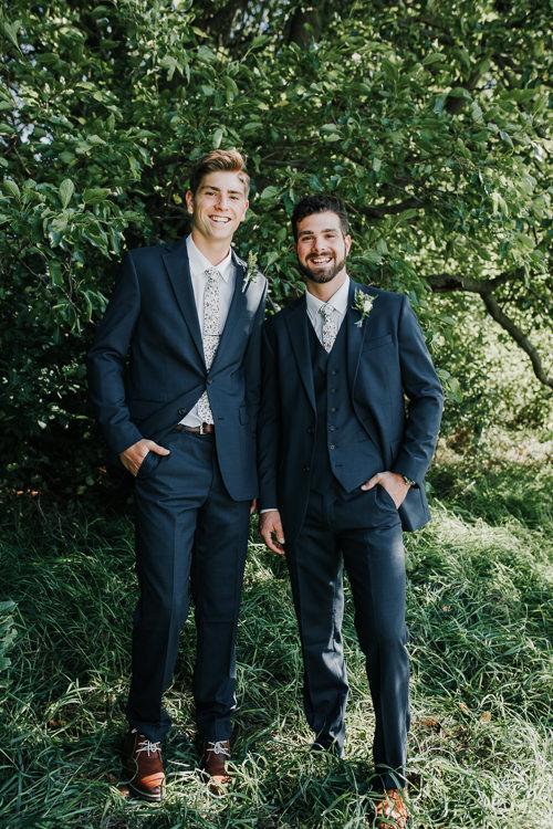 Cassidy & Isaac - Married - Nathaniel Jensen Photography - Omaha Nebraska Wedding Photograper - Nordstroms Christmas Tree Farm-45.jpg