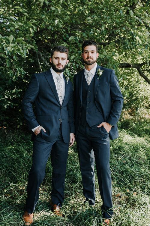Cassidy & Isaac - Married - Nathaniel Jensen Photography - Omaha Nebraska Wedding Photograper - Nordstroms Christmas Tree Farm-48.jpg