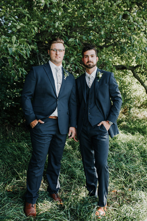 Cassidy & Isaac - Married - Nathaniel Jensen Photography - Omaha Nebraska Wedding Photograper - Nordstroms Christmas Tree Farm-55.jpg