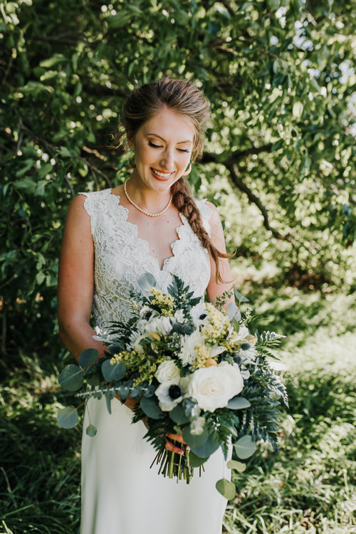 Cassidy & Isaac - Married - Nathaniel Jensen Photography - Omaha Nebraska Wedding Photograper - Nordstroms Christmas Tree Farm-69.jpg